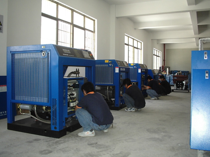 Common fault treatment method of air compressor
