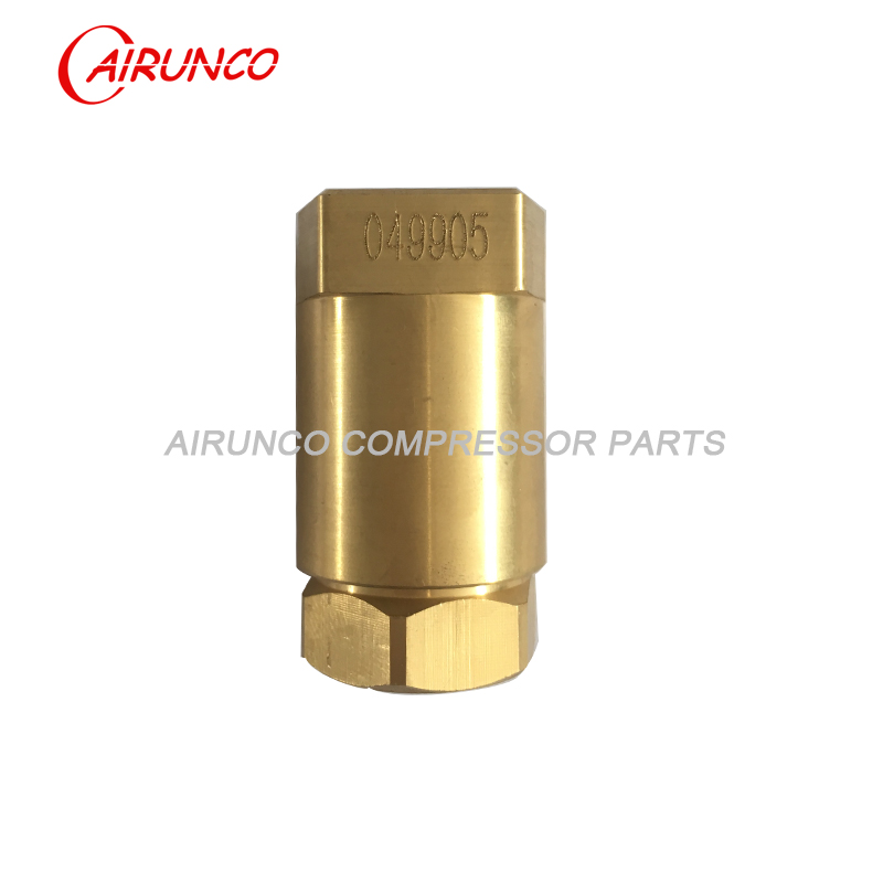 sullair check valve 049905 air compressor parts replacement
