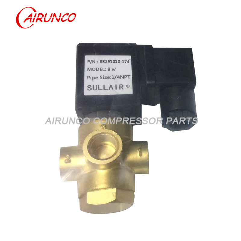 sullair 88291010-174 solenoid valve of air compresosr parts