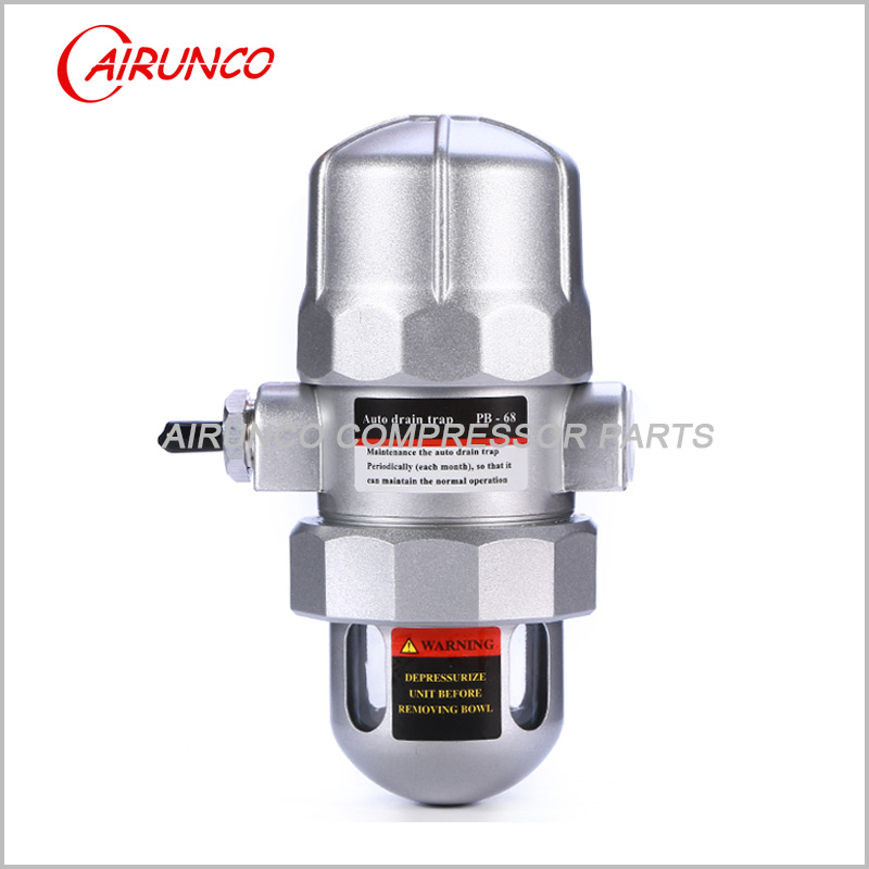 air dryer Automatic drain valve PB-68 auto drain trap portable wireless