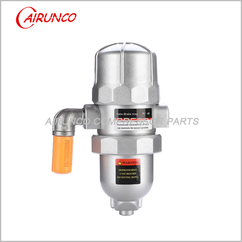 Automatic drain valve PC-68 have sliencer a key to clean air dryer