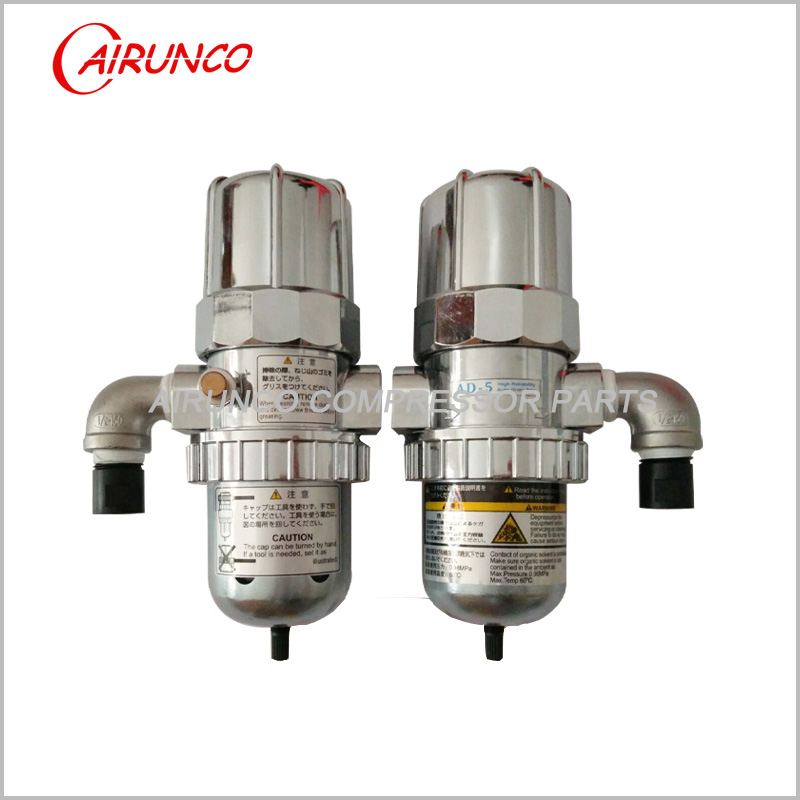 auto drain trap AD-5 automatic drain valve stainless steel