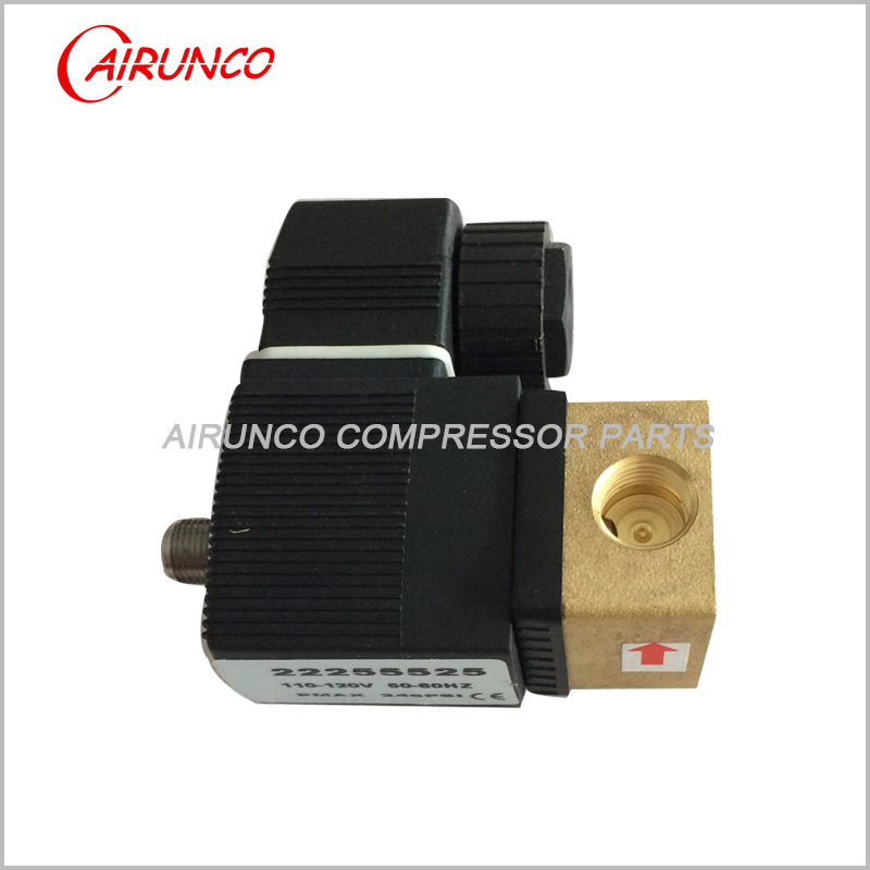 solenoid valve 22255525 applicable to ingersoll rand spare parts