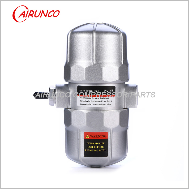 pneumatic auto drain valve PA-68 1/2 apply to air dry