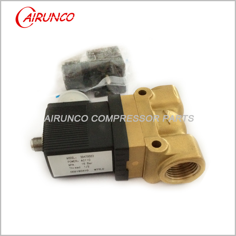 solenoid valve 39479563 apply to ingersoll rand spare parts
