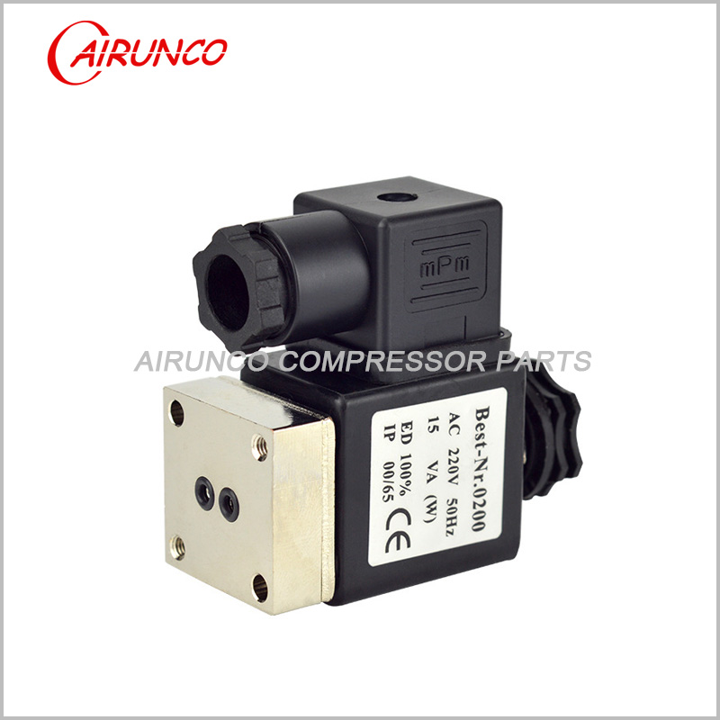 BURKERT normally closed solenoid valve 2-way apply to screw air compressor