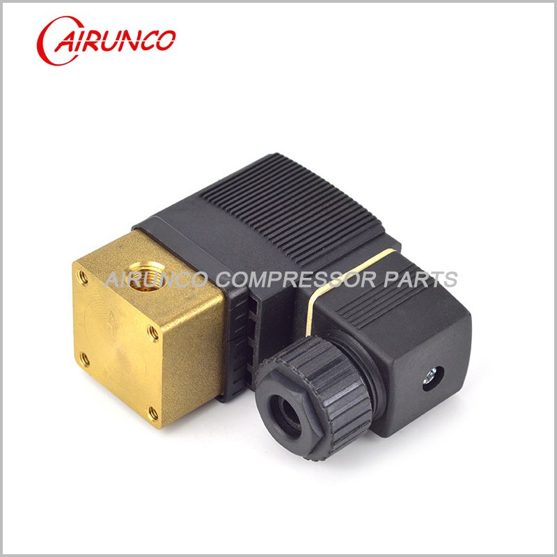 BURKERT normally closed solenoid valve AC24V  apply to screw air compressor