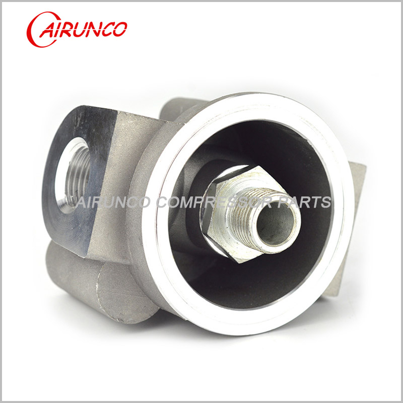casting oil filter base YL-6 apply to W962 for screw air compressor
