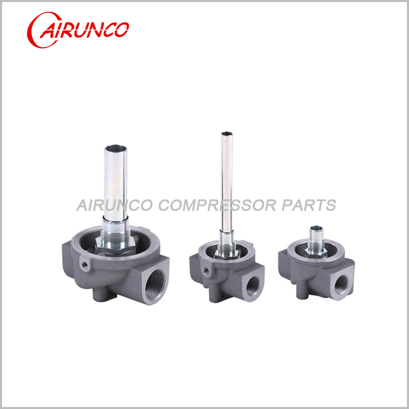 oil filter base apply to screw air compressor 15KW,22KW,37KW
