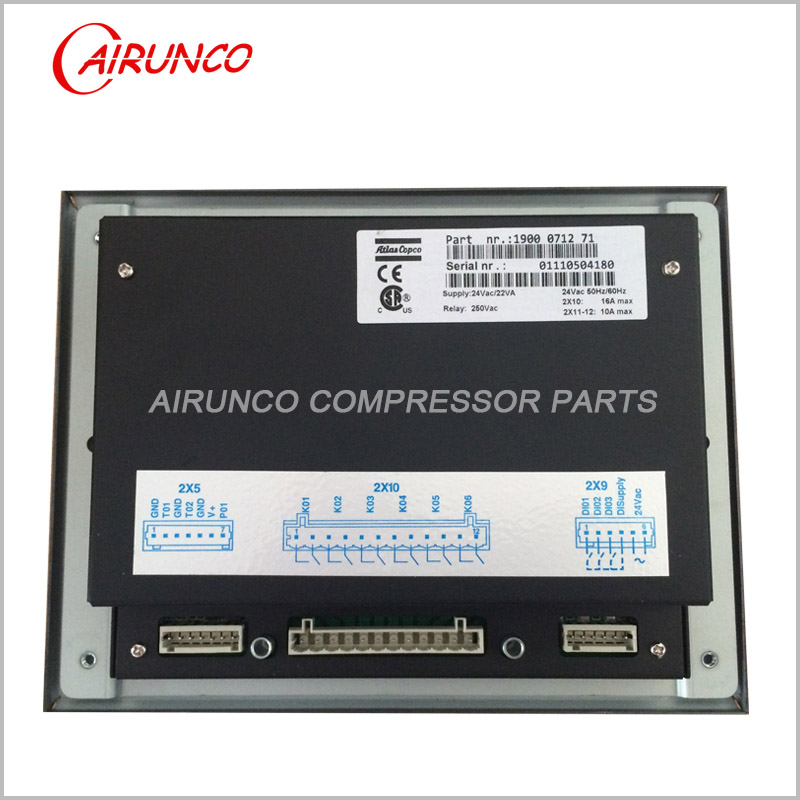 atlas copco genuine controller 1900071271 original screw air comperssor