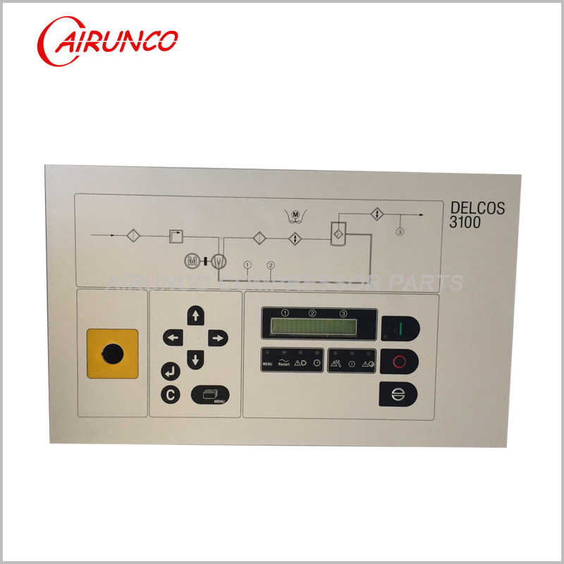 controller compair DELCOS 3100 apply to air compressor