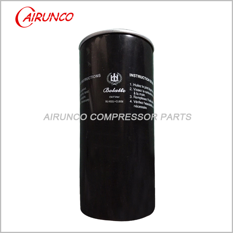 air compressor original oil filter element 914021-C180M genuine parts