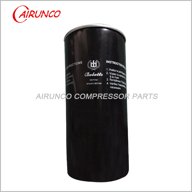air compressor original oil filter element 914201-B070M genuine parts