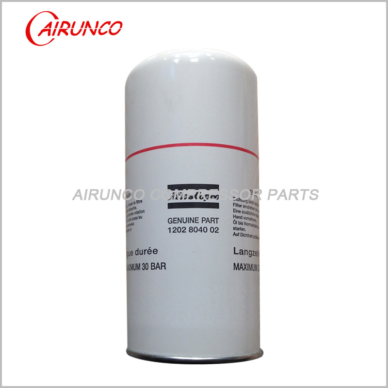 Atlas copco oil filter element genuine 1202804002 original