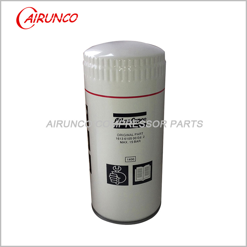 Atlas copco oil filter element genuine 1613610500 original