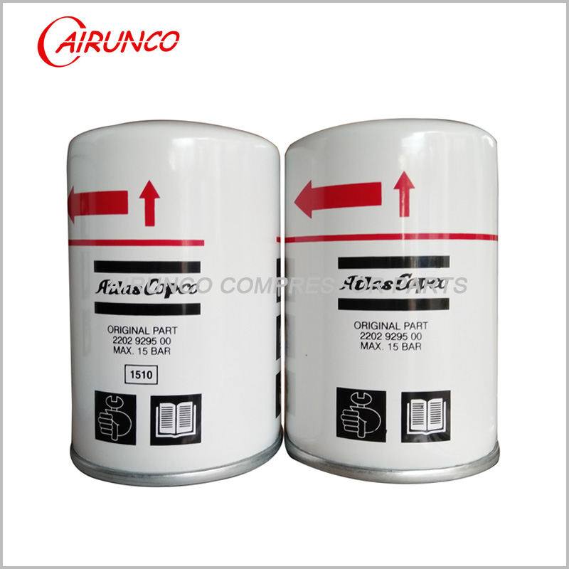 atlas copco oil filter element genuine 2202929500 original air compressor