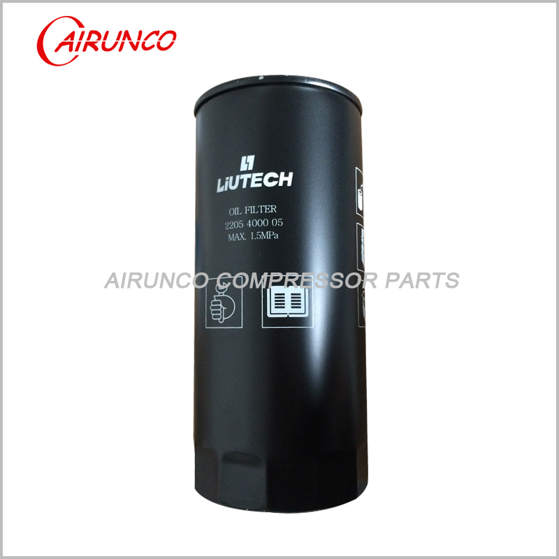 FUDA LIUTECH oil filter element 2205400005 genuine air compressor