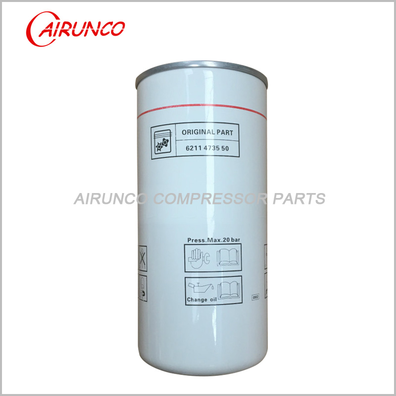 oil filter element LIUTECH 6211473550 genuine FUDA air compressor