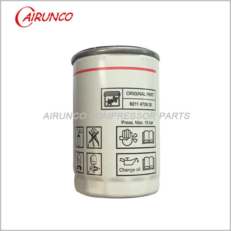 oil filter element genuine 6211472600 Liutech FUDA original air compressor parts
