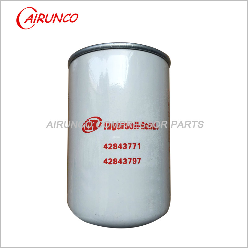 oil filter element 42843771 ingersoll rand genuine air compressor filters