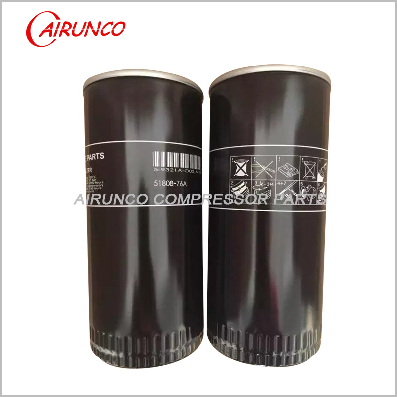 oil filter element TS 51808-76A Taisheng air compressor filters