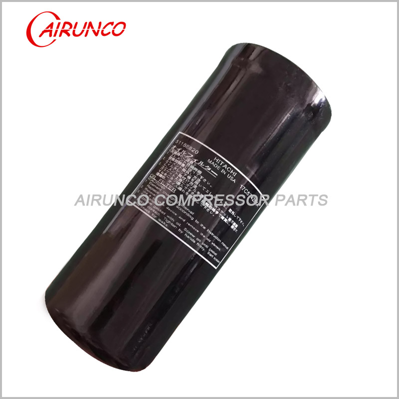 Hitachi oil filter element 51188820 genuine air compressor filters
