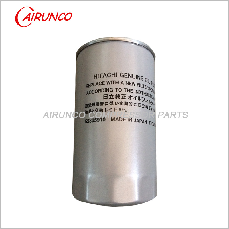 HITACHI 55305910 OIL FILTER ELEMENT genuine air compressor filters