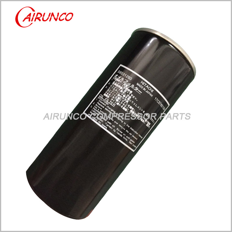 HITACHI 59031200 OIL FILTER ELEMENT genuine air compressor filters