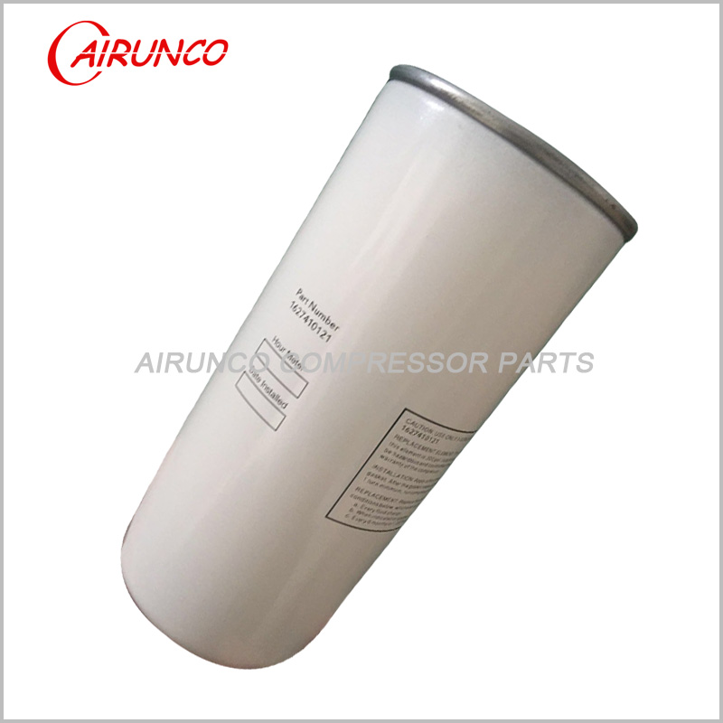 spin oil filter element 1627410121 Quincy genuine air compressor filters