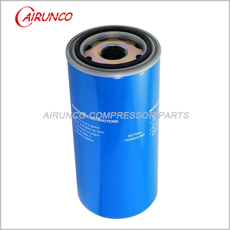 air compressor filters SCR COMP oil filter element 25200018-005
