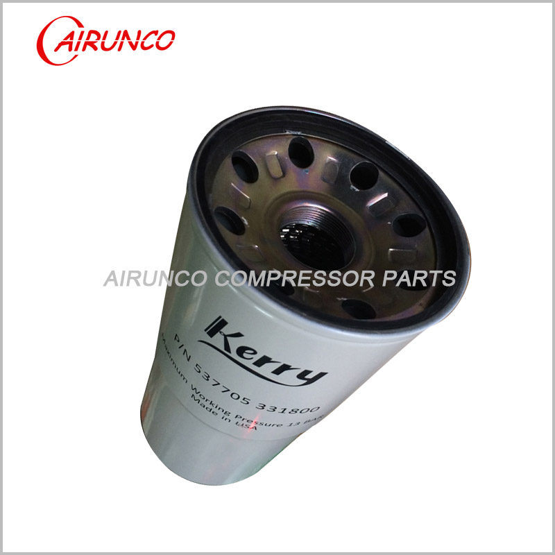 Kerry oil filter 537705331800 air compressor filters