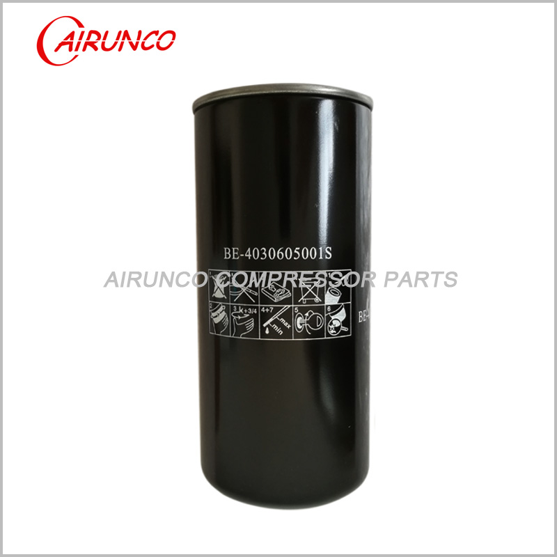 BAUER OIL FILTER BE-4030605001S AIR COMPRESSOR FILTERS