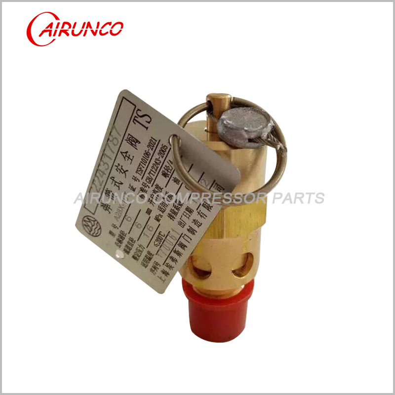Air compressor safety valve 22431787 relief valve apply to ingersoll rand