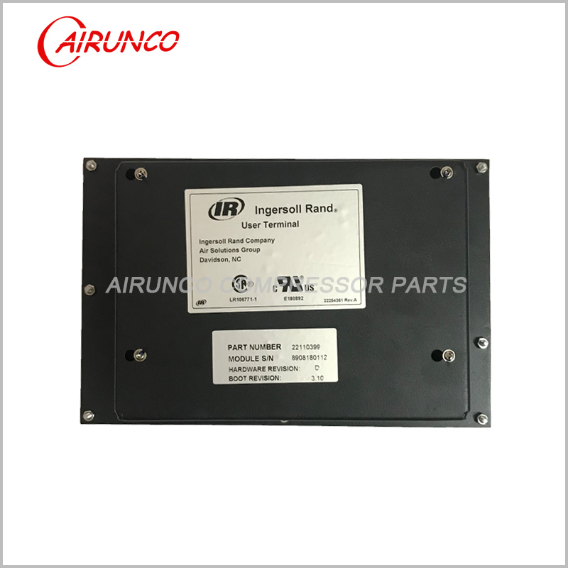 Ingersoll Rand Controller 22110399 User Terminal Operator Interface
