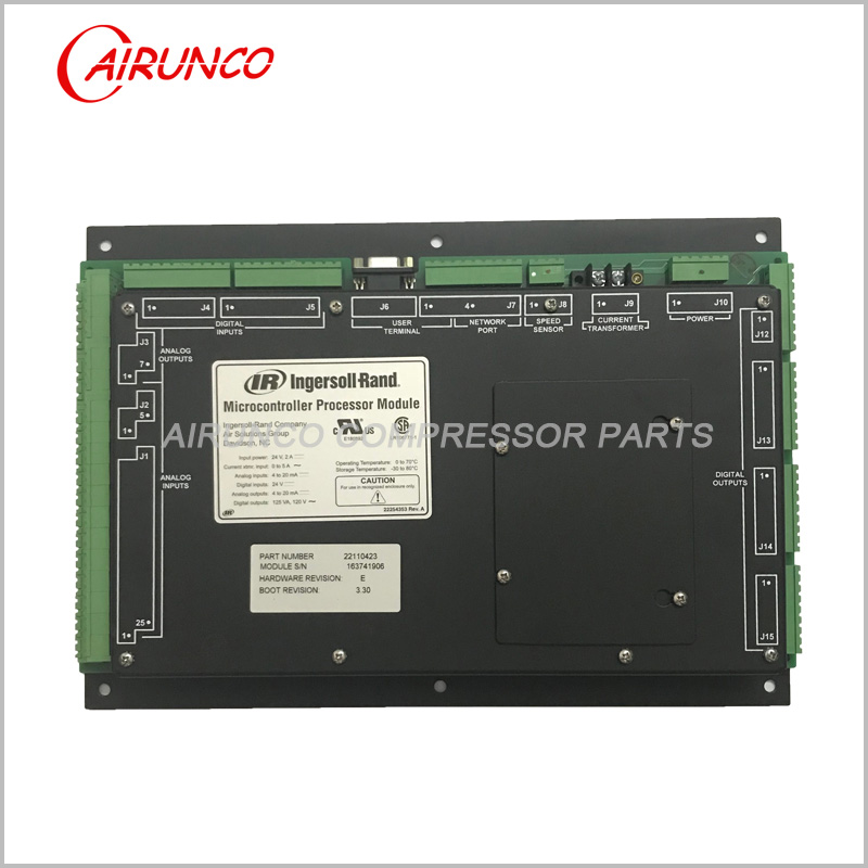 Ingersoll Rand 22110423 Micro controller Module User Interface