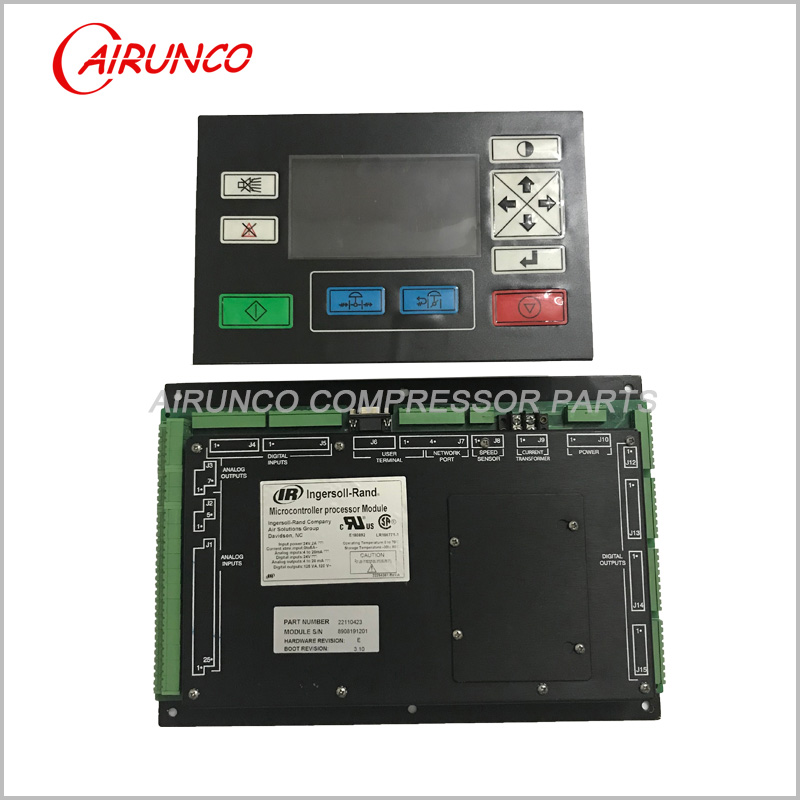 Ingersoll Rand Controller 22110399 User Terminal and 22110423 Micro Module