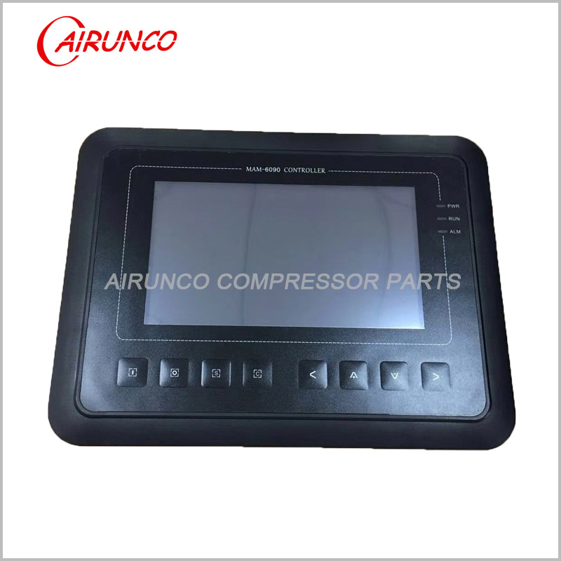 Screw air compressor controller MAM-6090 touch screen integrated