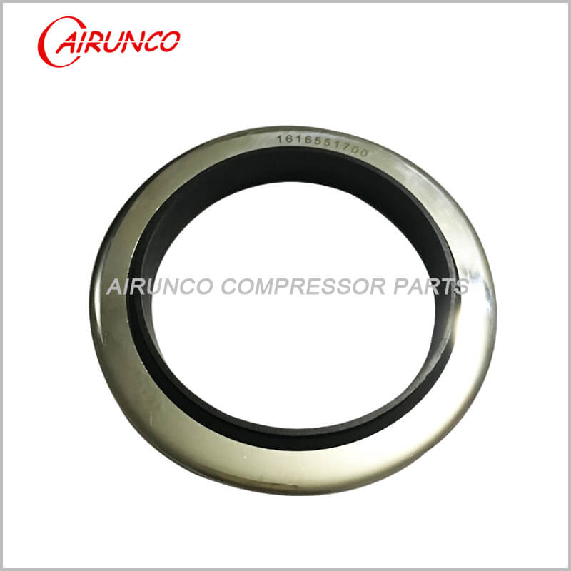 air compressor spare parts seal kit 1616551700 oil seal shaft sleeve appy to atlas copco