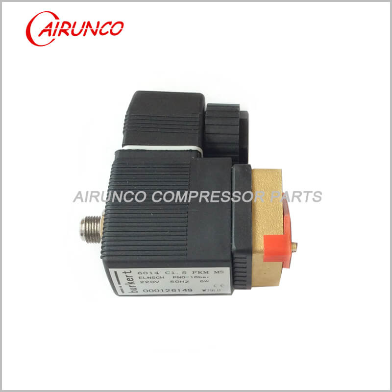 solenoid valve 1089062114 apply to atlas copco spare parts