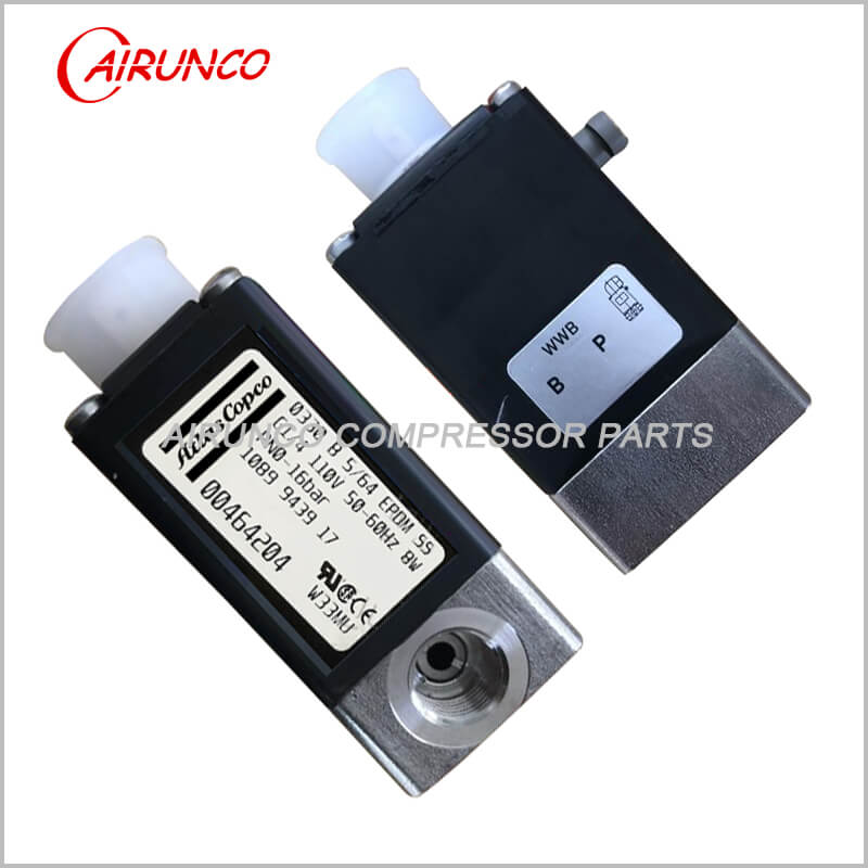 solenoid valve oilless 120V 1089943917 apply to atlas copco spare parts