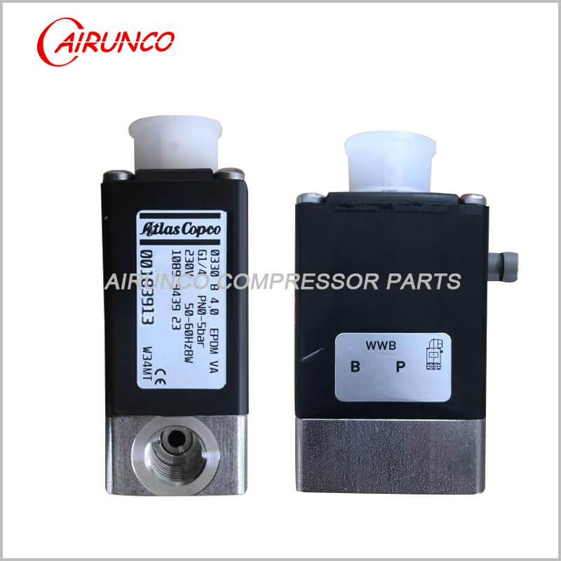 solenoid valve oilless 230V solenoid valve 1089943923 apply to atlas copco spare part